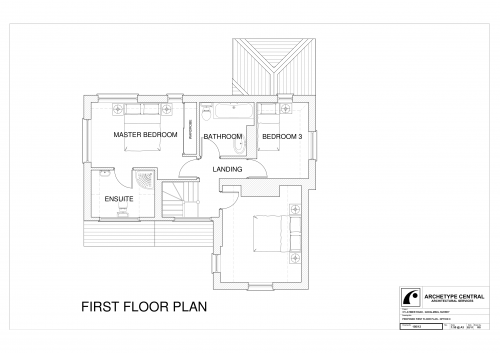 Latimer Road - Proposed First Floor Plan