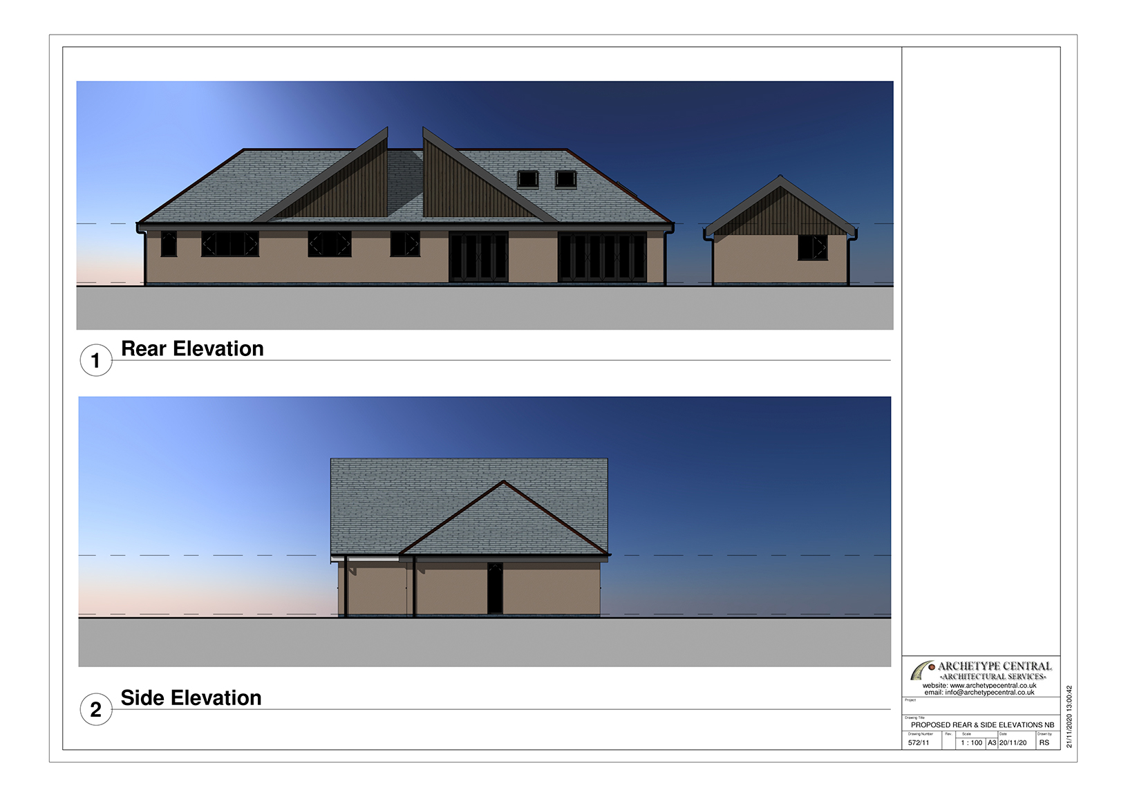 ABERDARE - PROPOSED ELEVATIONS