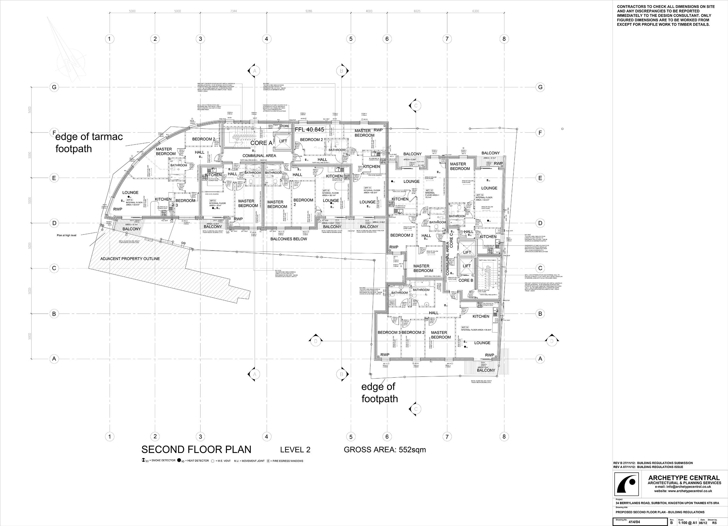 BERRYLANDS - SECOND FLOOR PLAN