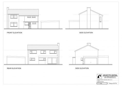 Home Farm Road - Existing Elevations