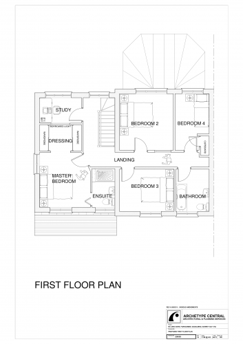 Long Gore - Proposed First Floor Plan