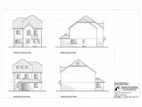 ADMIRAL WAY - PROPOSED ELEVATIONS
