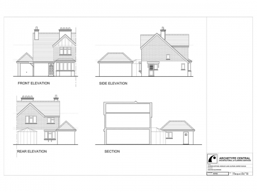 Clarion Cottage - Existing Elevations