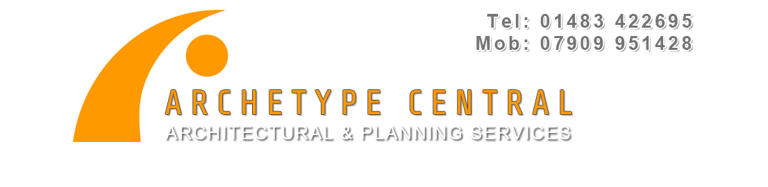 ARCHETYPE CENTRAL | ARCHITECTURAL SERVICES | GODALMING | SURREY Logo