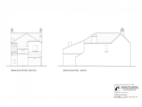 Nelson Road - Existing Elevations