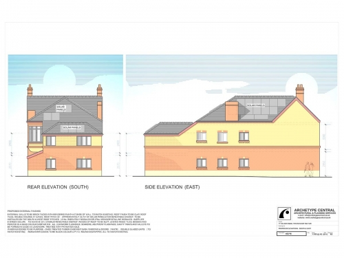 Nelson Road - Proposed Elevations